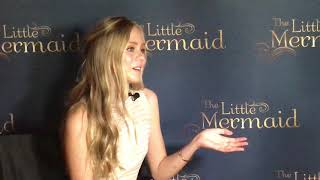 Loreto Peralta star of The Little Mermaid now in theaters!