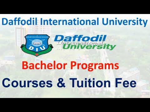 Daffodil International University All Courses Tuition Fees   ড্যাফোডিল বিশ্ববিদ্যালয়   DIU  