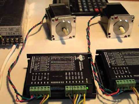 hqdefault stepper motor driver part two wmv youtube longs stepper motor wiring diagram at readyjetset.co
