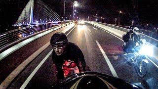 GoPro Street speed Skydive Inline skating Bridge Freestyle Belgrade Rollerblading Roleri Nino