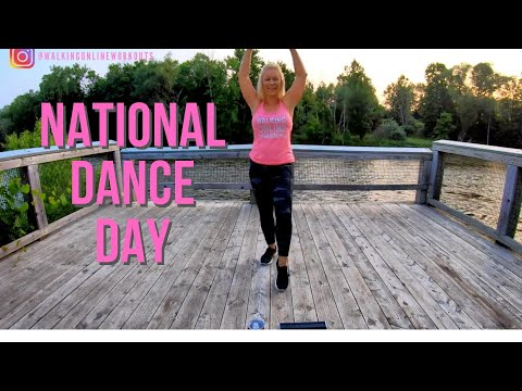 Walking Online Workout for National Dance Day