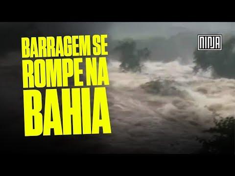 Urgente: Barragem se Rompe na Bahia