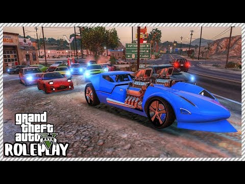 GTA 5 Roleplay - 'HUGE' Car Cruise Ride Out | RedlineRP #128 thumbnail