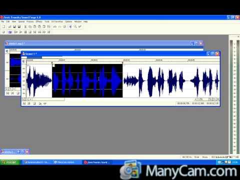 VIDEO AULA PARTE 1 MIXANDO VOZ E MUSICA NO SOUND FORGE 6.0