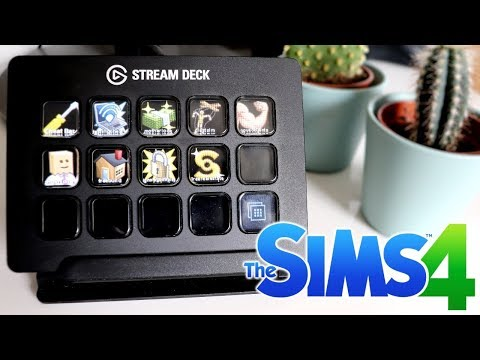 MY SETUP - Elgato Stream Deck for The Sims 4 | Cheats and Hotkey Compatibility thumbnail