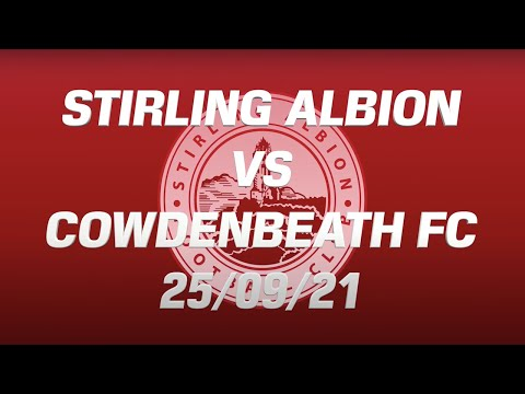 Stirling Cowdenbeath Goals And Highlights