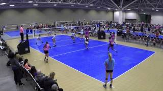 Cassie Brooks Volleyball DS/Libero Class of 2017 Serve Receive - www.recruitlings.com