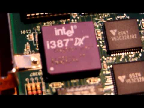 AST Computer Premium 25Mhz 386 Daughterboard. P2
