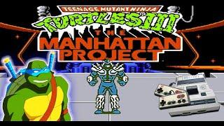 Teenage Mutant Ninja Turtles 3 NES, Dendy FINAL BOSS - Super Shredder (No Dead)