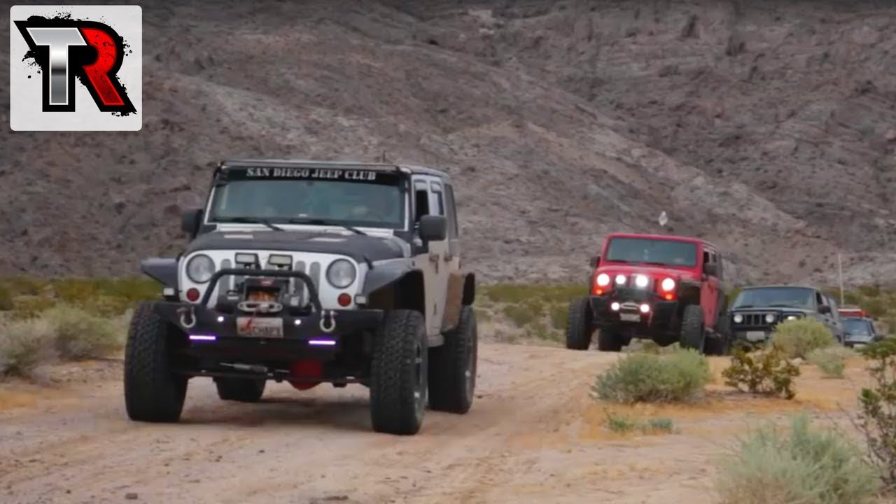 San Diego Jeep >> Mojave Road Trail With The San Diego Jeep Club