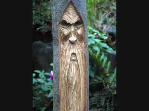 wood spirit carving tutorial 3.wmv - YouTube