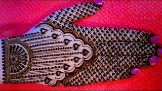 mehndi designs Jewellery style - Attractive Simple and Easy Eid back hand mehandi designs | mehndi