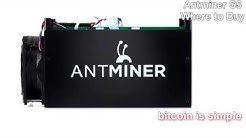 Where to buy Antminer S5 Bitcoin Miner? Free Shipping
