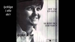 Anna Lena Löfgren Det Var En Gång First Of May