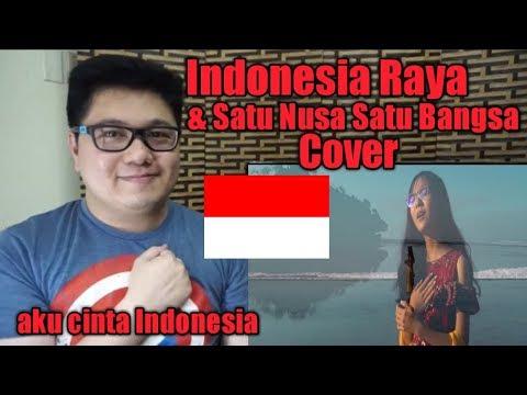 Indonesia Raya & Satu Nusa Satu Bangsa (Cover) By AlffyRev Ft Misellia Ikwan I Filipino Reaksi