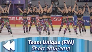 Team Unique (FIN) - Short 2018/2019