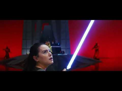 """Kylo Ren and Rey Vs Praetorian Guard's (soundtrack """"Battle Of The Heroes"""" and """"Duel Of The Fates"""")."""