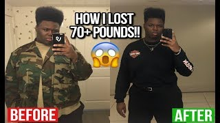 HOW I LOST 70 POUNDS IN 10 MONTHS!!