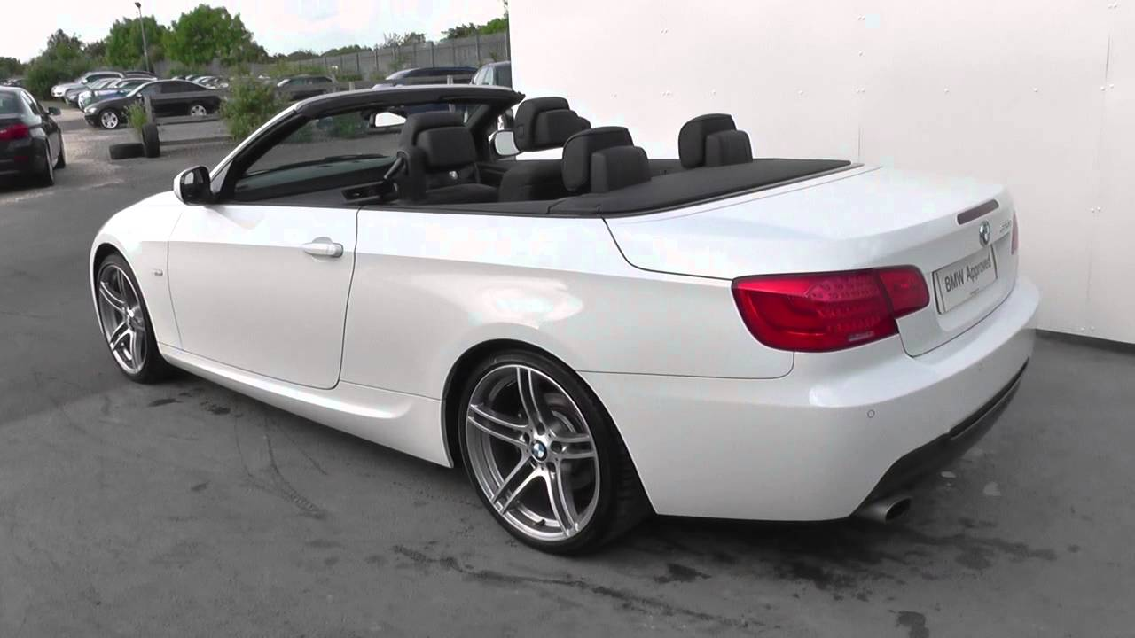 bmw 3 series convertible e93 320d m sport convertible n47 z310 u18982 youtube. Black Bedroom Furniture Sets. Home Design Ideas