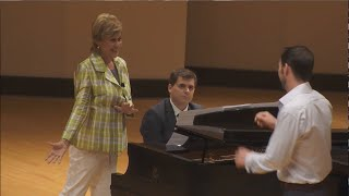 Masterclass with Kiri Te Kanawa at RSMI