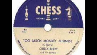 CHUCK BERRY  Too Much Monkey Business  Sep