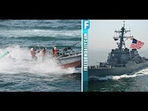 BREAKING Iranian Ship Just Intercepted US Destroyer – Gets BRUTAL Lesson In What's On