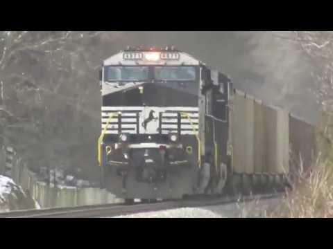 NS Train 746 DP/ Engineer Scott Glessner January 22 2019