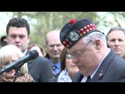 Calgary Highlanders mark the Great War anniversary in London