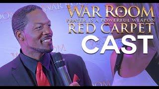 WAR ROOM Red Carpet: Cast