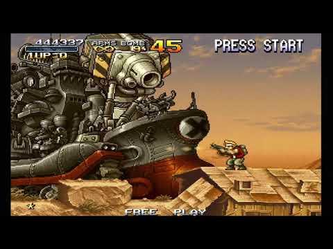 Metal Slug Anthology Ps4 Metal Slug 2 Boss 4 Big Shiee Youtube