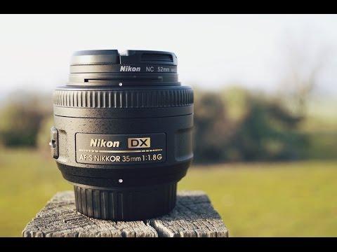 Nikon AF S DX Nikkor 35mm f:1 8G Unboxing & Review!