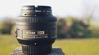 Nikon AF S DX Nikkor 35mm f 1 8G Unboxing amp Review