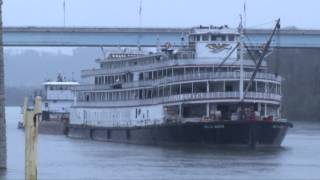 The Delta Queen Leaves Chattanooga - March 22nd 2015