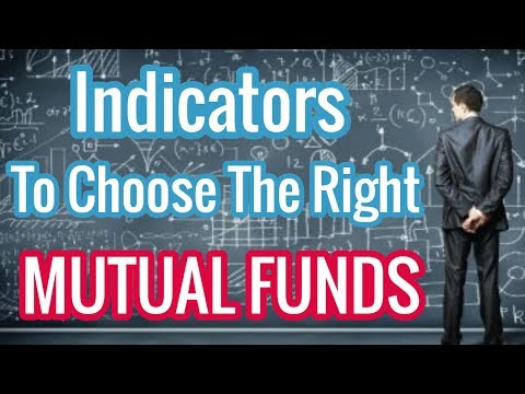 Indicators to choose right Mutual Funds