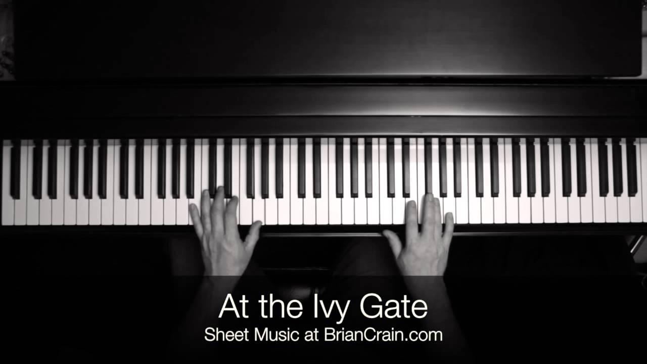 brian crain at the ivy gate sheet music pdf