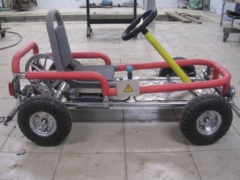 Как сделать ребёнку электромобиль 58
