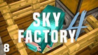 SkyFactory 4 Ep. 8 Resource Hog Automation + 2nd Prestige Point