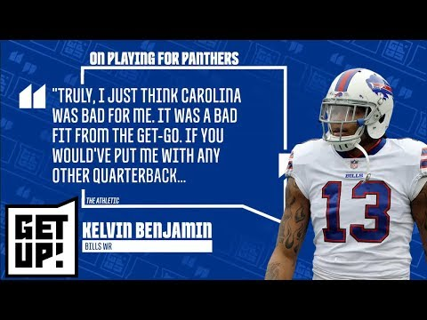8122c4601 Jalen Rose reacts to Kelvin Benjamin's criticism of Cam Newton and Panthers  | Get Up! | ESPN - YouTube