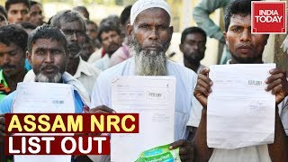 Assam NRC Final List Released; 19 Lakh Applicants Excluded, 3.11 Crore Make It To Citizenship List