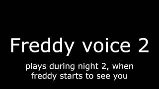 - FNaF Sister location ALL Sounds In game