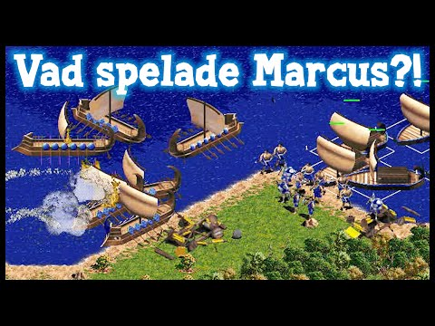 Vad spelade Marcus förr? - Age of Empires!