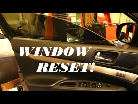 Nissan/Infiniti Power Window Reset