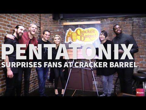 Pentatonix gives these Cracker Barrel diners the surprise of a lifetime | Rare Country