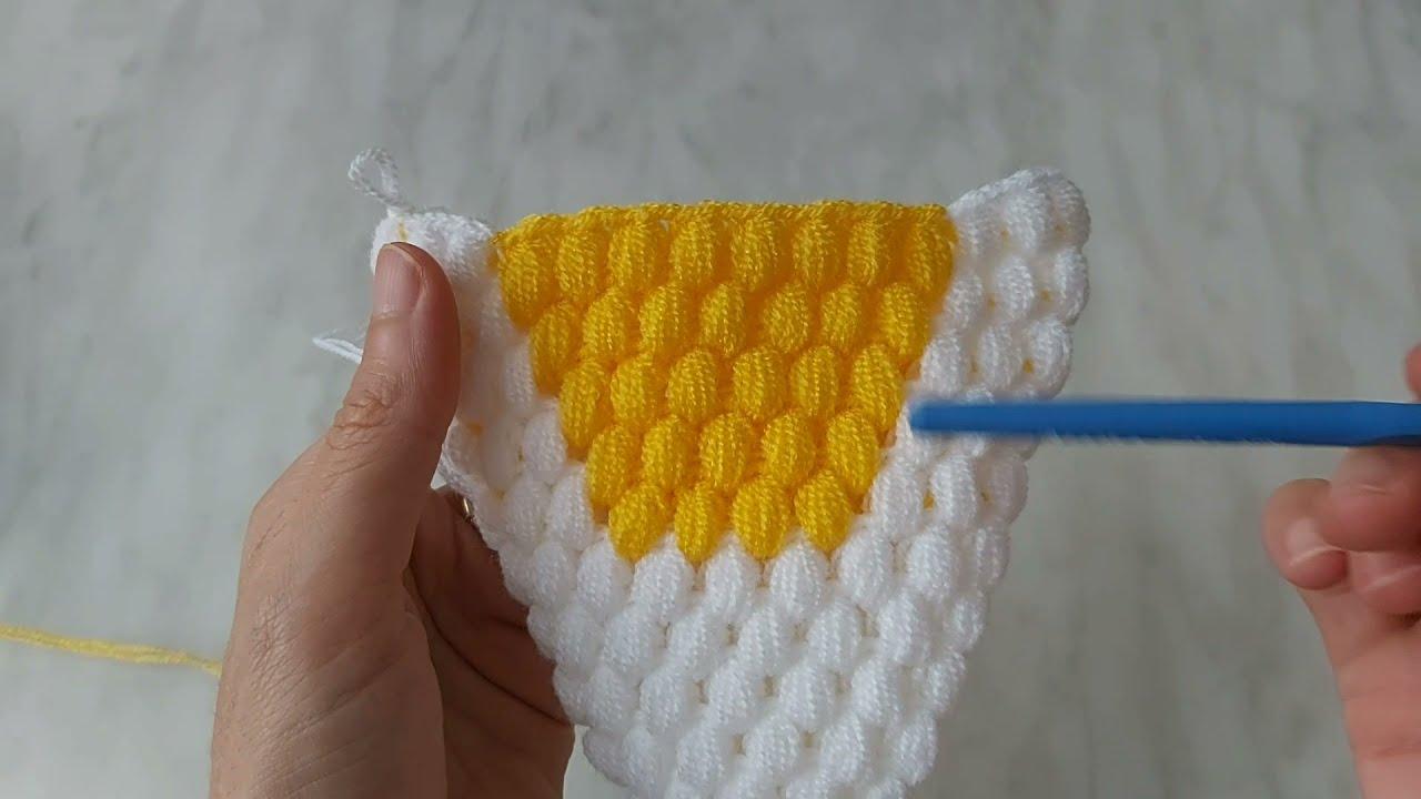 🍎 Elma Lif Modeli Yapılışı -Mısır tekniği kese elma lif - Kolay Lif Modelleri - #yenilifmodelleri -