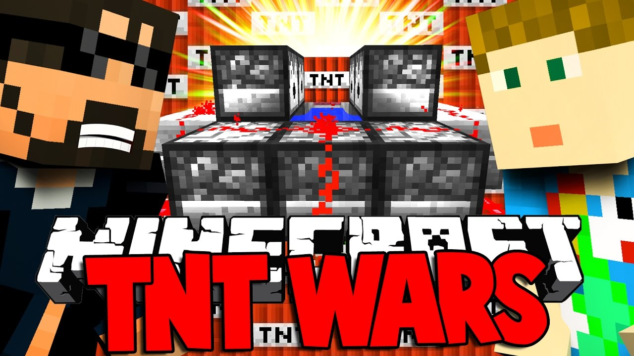Minecraft Christmas Tnt Wars Automatic Tnt Cannon Of  Youtube