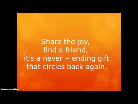Why We Sing-Greg Gilpin- Lyrics