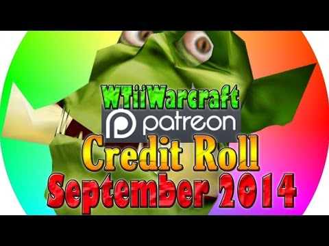 Warcraft 3 - Patron Credit Roll | September 2014