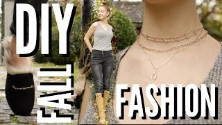 FALL FASHION TRENDS you can DIY!