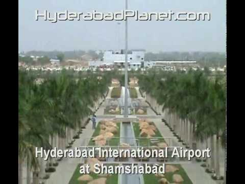 Hyderabad International Airport at Shamshabad