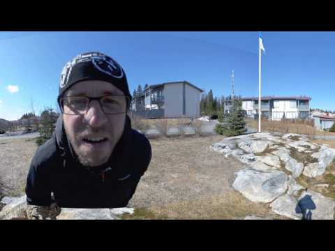 360 video from the backyard using just a fisheye camera lens